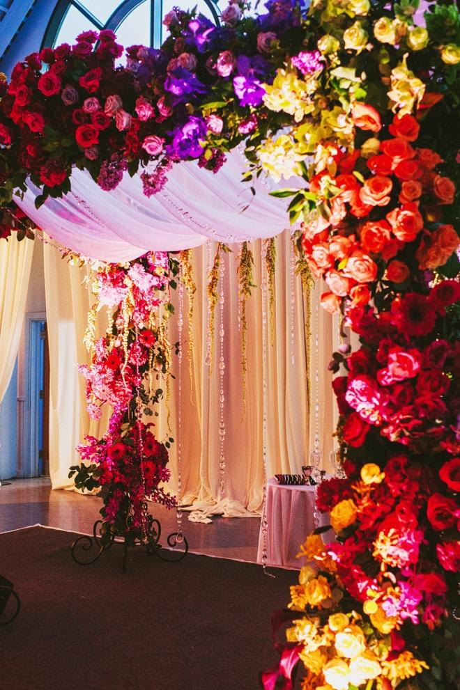 jewish ceremony chuppah Philadelphia Wedding Florists Evantine Design