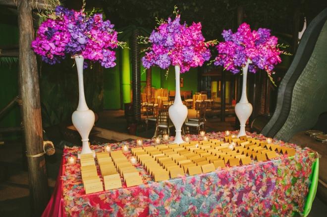 purple orchids Philadelphia Wedding Florists Evantine Design