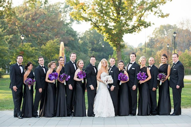 bridal party photos phildelphia weddings