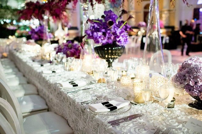 long head tables please touch museum weddings evantine design