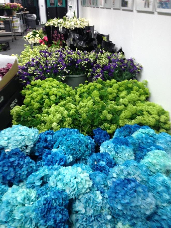 blue hydrangea philadelphia event designers evantine design