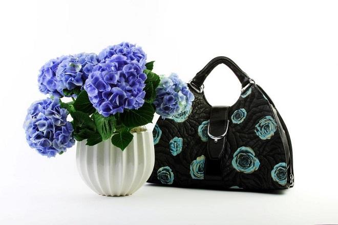 Shop Philadelphia, Gift Shops, Rittenhouse Hotel Gift Shop, Botanical Gifts, Potted Flowers, BLue