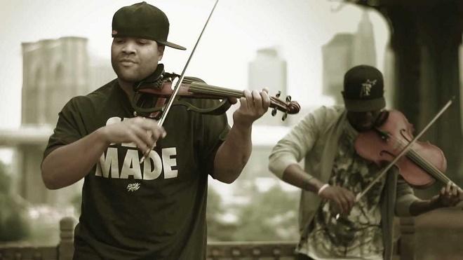 Photo courtesy of Black Violin