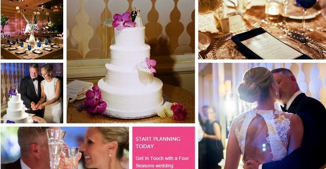 ballroom weddings four seasons hotel philadelphia evantine design liz banfield