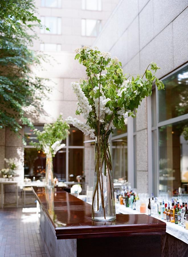 bar arrangements for weddings evantine design philly event planners liz banfield photography