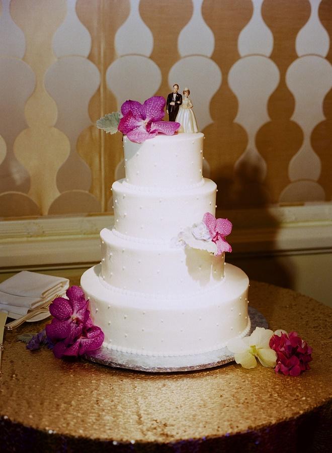 simple traditional white wedding cakes wedding cake toppers evantine design liz banfield