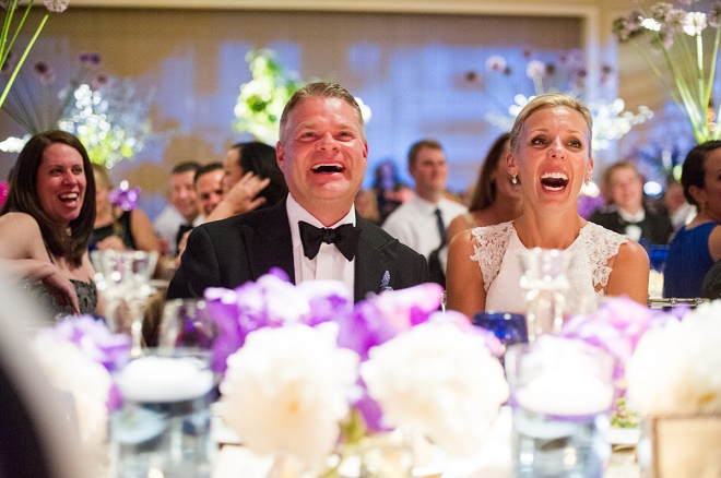 wedding toast reactions bride and groom candid photos liz banfield photography