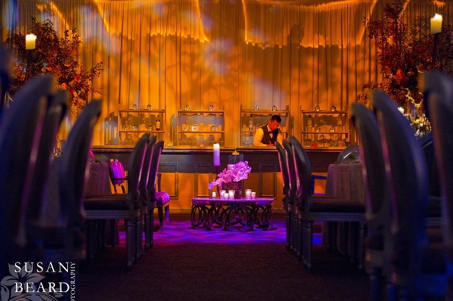 dramatic bars for philadelphia parties and weddings evantine design