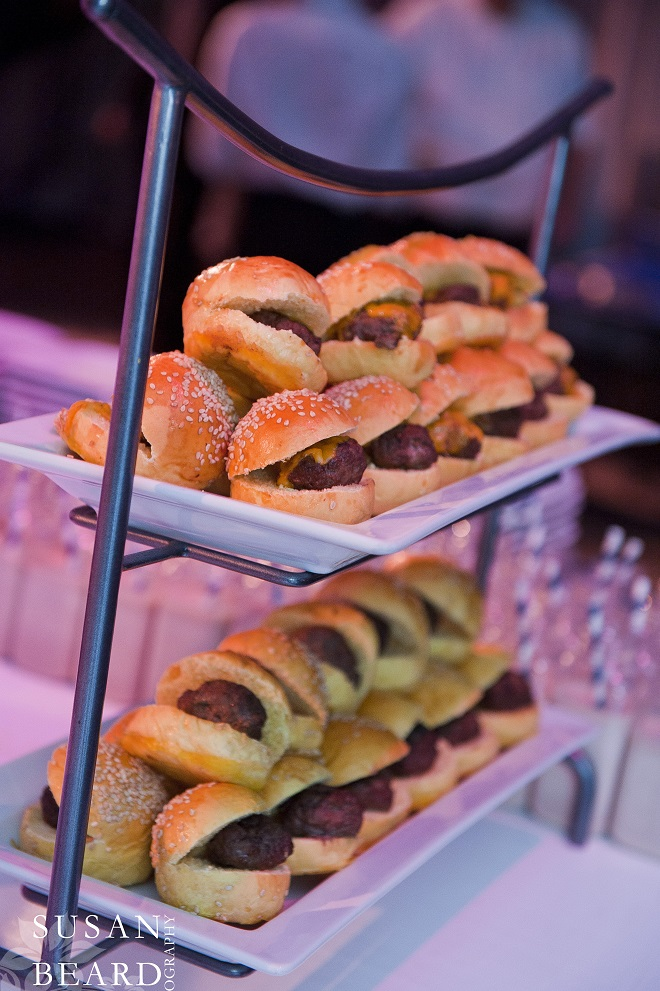 Gourmet Burger Bar for the Kids, although Adults enjoyed as well! Evantine Design.