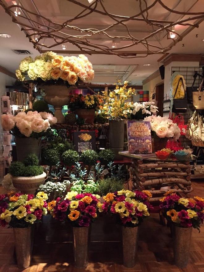 spring into the evantine design store