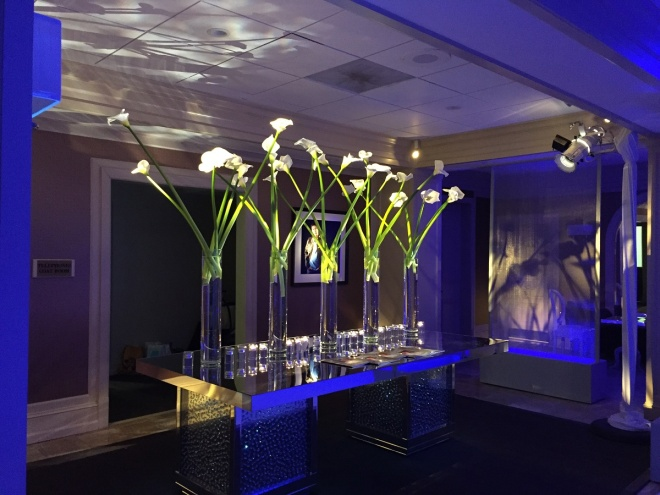 Cory Feller Mitzvah 11 21 evantine design philly mitzvahs place card table light up screens