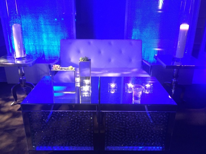 Cory Feller Mitzvah 11 evantine design philly mitzvahs mirror cocktail tables