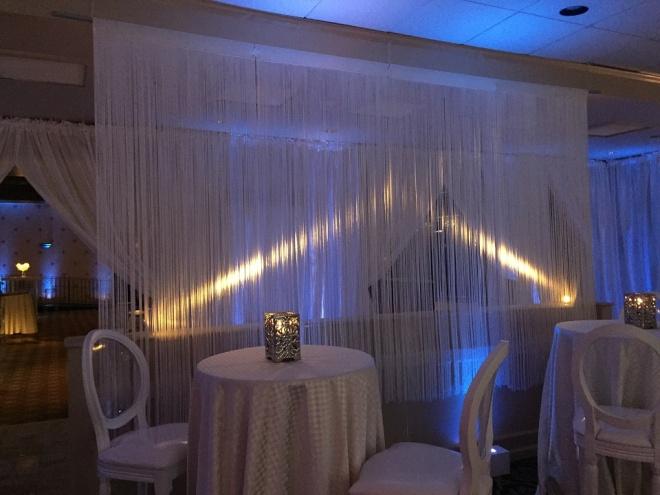 cory mitzvah 100 evantine design philly mitzvahs white fringe drape