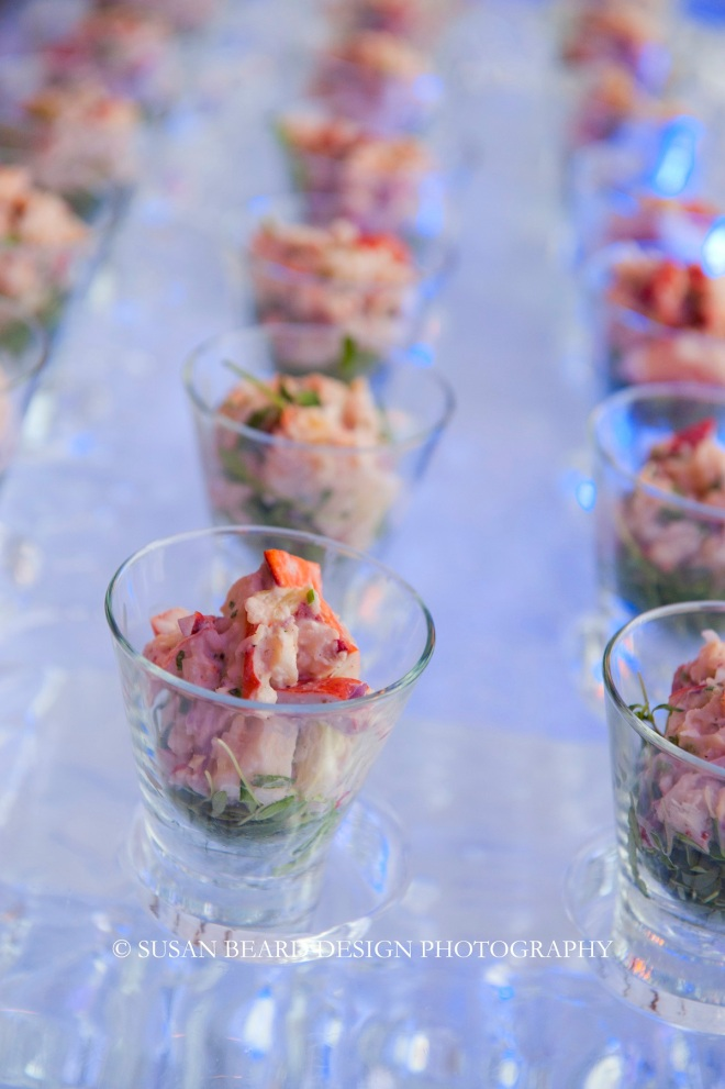 ceviche station for parties four seasons hotel philadelphia