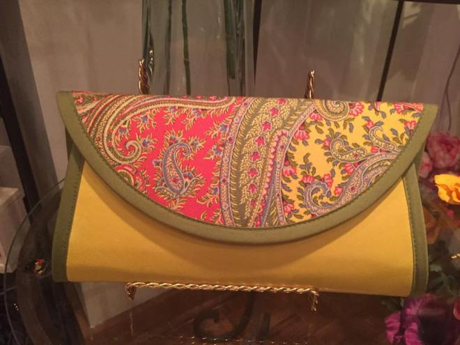Patrick Michael Fabric Clutches Evantine Design Store at The Rittenhouse 3