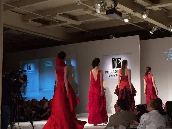 philadelphia university fashion evantine design event production 2