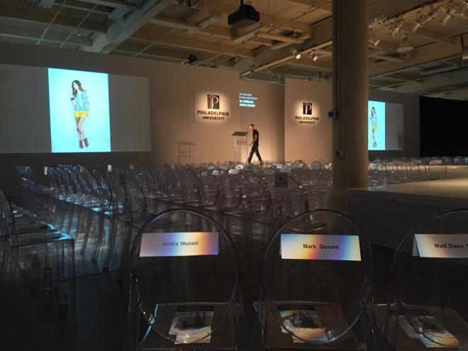 philadelphia university fashion show lighting audio visual evantine design 2
