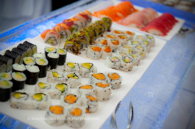 sushi station for philadelphia events four seasons hotel classic party foods