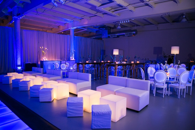 light up bar mitzvahs blue lighting white modern furniture for parties evantine design philadelphia party planners 3