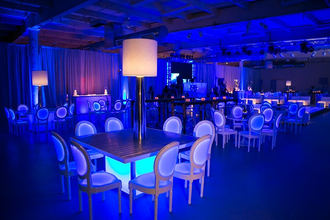 light up bar mitzvahs blue lighting white modern furniture for parties evantine design philadelphia party planners 4