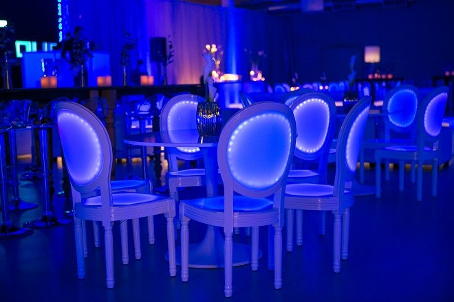 light up bar mitzvahs blue lighting white modern furniture for parties evantine design philadelphia party planners 45