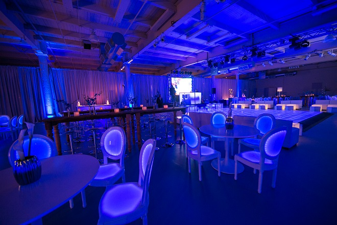 light up bar mitzvahs blue lighting white modern furniture for parties evantine design philadelphia party planners 47
