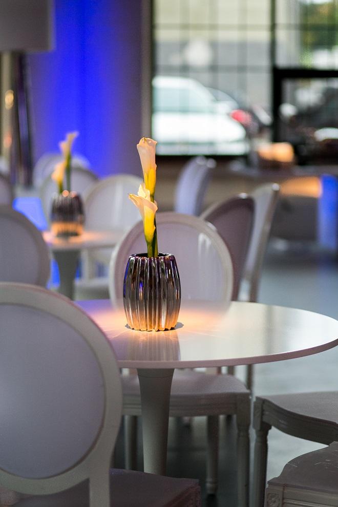 modern white lounge mitzvah with raw wood blue lighting evantine designn moulin loft space philadelphia 18