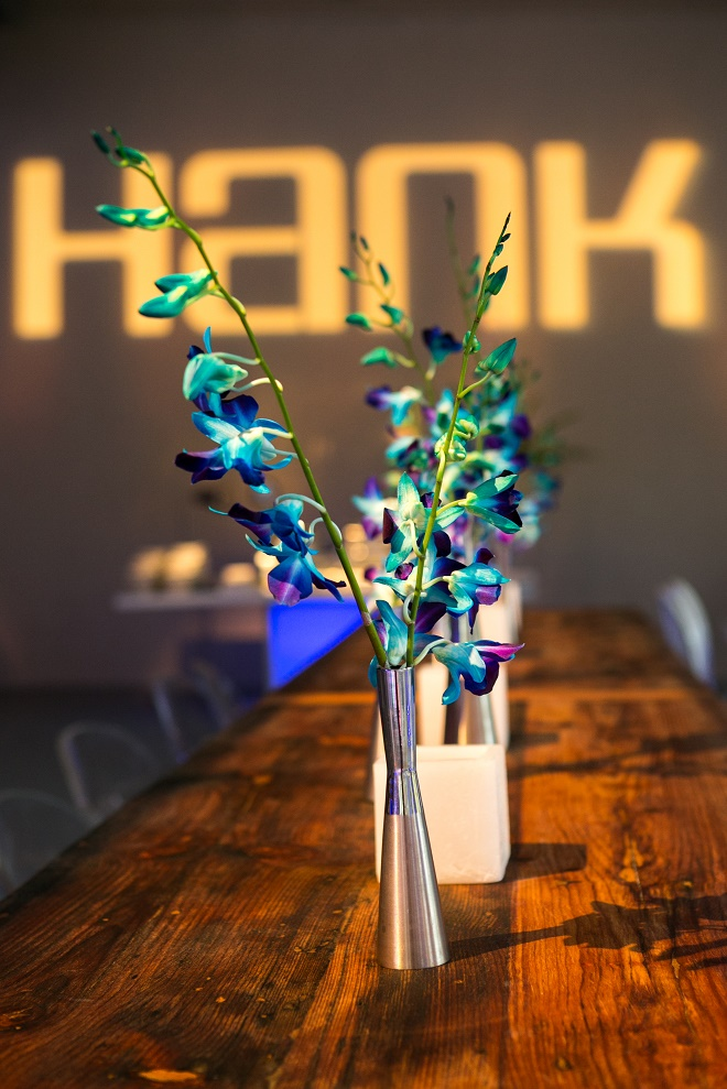 modern white lounge mitzvah with raw wood blue lighting evantine designn moulin loft space philadelphia 47