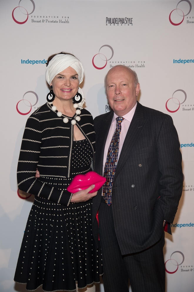 TylerBoye__julian fellowes and his wife philadelphia cancer event