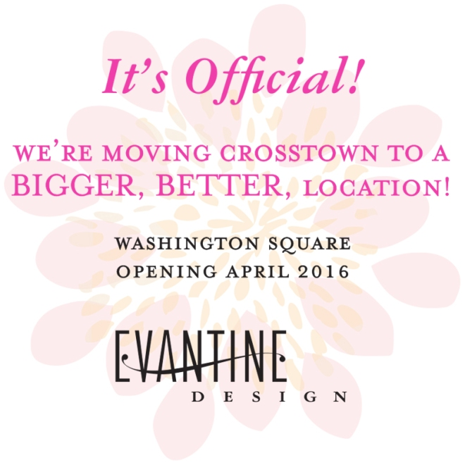 Evantine Design Floral Shop and Gift Boutique is Moving to Washington Square Philadelphia