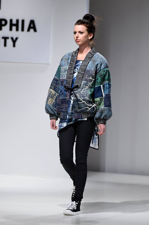 best of show philadelphia university fashion show 2016 bomber jacket